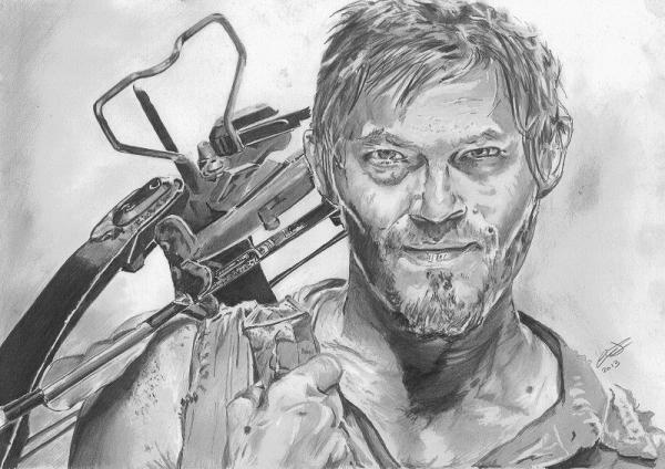 Norman Reedus by jonesy12